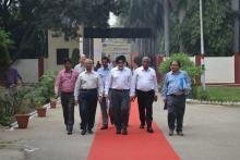 सेक्रेटरी विजिट का दौरा